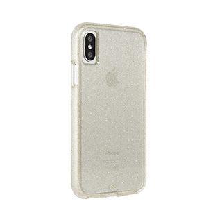 iPhone X/Xs Case-mate Champagne Sheer Glam case
