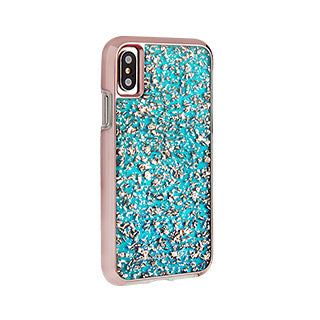 iPhone X/Xs Case-mate Turquoise Karat case