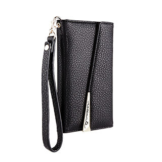iPhone X/Xs Case-mate Black Leather Wristlet Folio case