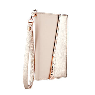 iPhone X/Xs Case-mate Rose Gold Leather Wristlet Folio case