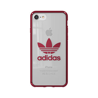 iPhone 8/7 ADIDAS Clear/Red Case