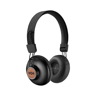 The House of Marley Black Positive Vibrations BT Headphones
