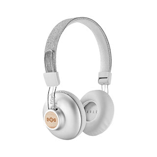 The House of Marley Silver Positive Vibrations BT Headphones