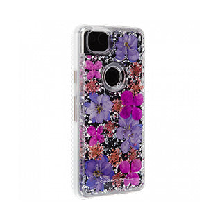 Google Pixel 2 Case-mate Purple Karat Petals case