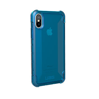 iPhone X/Xs UAG Blue/Clear (Glacier) Plyo Series case