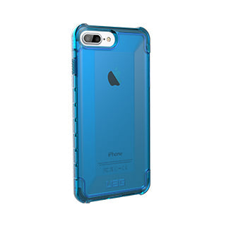 iPhone 8 Plus/7 Plus/6S Plus/6 Plus UAG Blue/Clear (Glacier) Plyo Series case