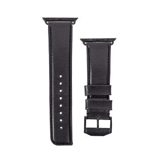 Apple Case-mate Black Signature Leather Watchband - 42mm