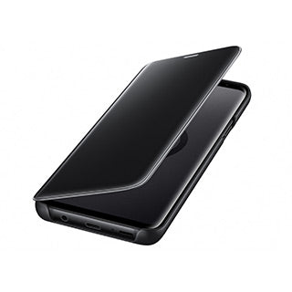 Samsung Galaxy S9 OEM Black Clear View Cover w/Stand