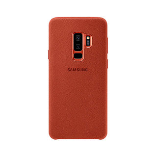 Samsung Galaxy S9 Plus OEM Red/Orange Alcantara Cover