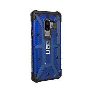 Samsung Galaxy S9 Plus UAG Cobalt/Black Plasma Series case