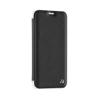 Samsung Galaxy S9 Xqisit Black Adour Flap Cover