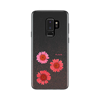 Samsung Galaxy S9 Plus FLAVR Gloria Real Flower iPlate case