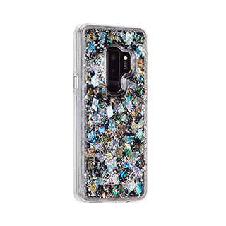 Samsung Galaxy S9 Plus Case-mate Mother of Pearl Leaf Karat case