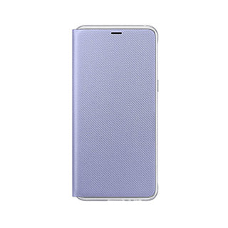 Samsung Galaxy A8 (2018) OEM Orchid Grey Neon Flip Cover