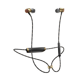 The House of Marley Brass Uplift 2 Wireless BT Earphones