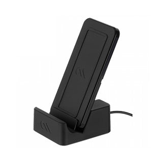 Case-mate Black Wireless Power Pad w/Stand