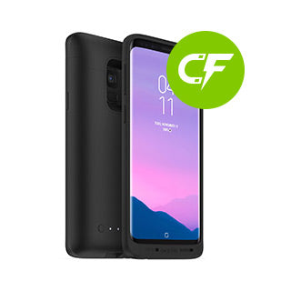 Samsung Galaxy S9 mophie black juice pack case