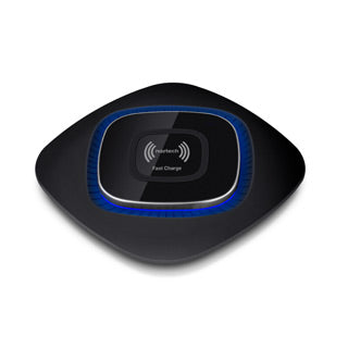 Naztech Black Fast Charge Qi Wireless Charging Pad