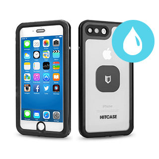 iPhone 8 Plus/7 Plus Hitcase Black Shield LINK case