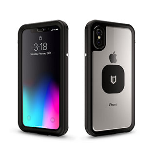 iPhone X/Xs Hitcase Black Shield LINK case