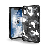 iPhone XR UAG Arctic Camo Pathfinder Series case