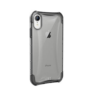 iPhone XR UAG Clear/Grey (Ice) Plyo Series case