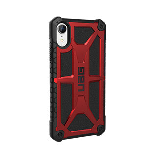 iPhone XR UAG Red/Black (Crimson) Monarch Series case