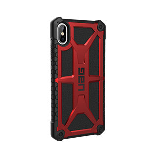 iPhone Xs Max UAG Red/Black (Crimson) Monarch Series case