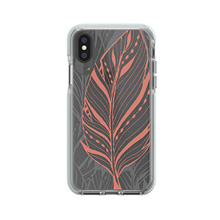 iPhone X/Xs Gear4 D3O Blush (Tribal Leaf) Victoria Case