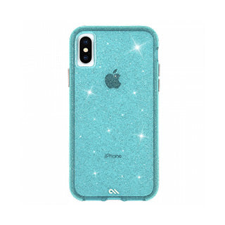 iPhone X/Xs Case-mate Teal Sheer Crystal case