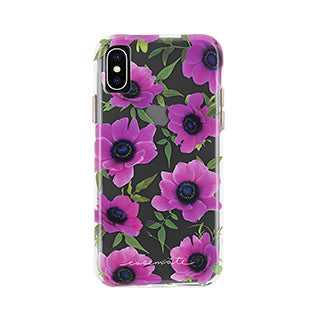 iPhone X/Xs Case-mate Pink Poppy Wallpaper case