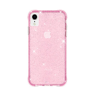 iPhone XR Case-mate Pink Sheer Crystal case