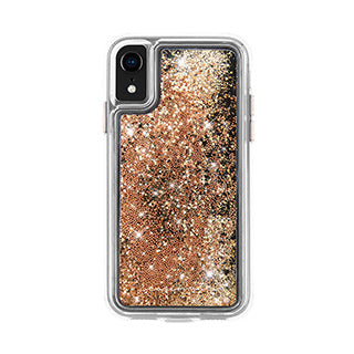 iPhone XR Case-mate Gold Waterfall case
