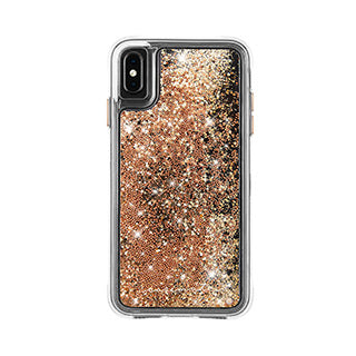 iPhone Xs Max Case-mate Gold Waterfall case