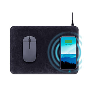 HyperGear Wireless Charging Mouse Pad Black