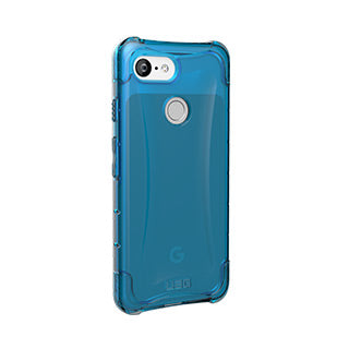 Google Pixel 3 UAG Blue/Clear (Glacier) Plyo Series case