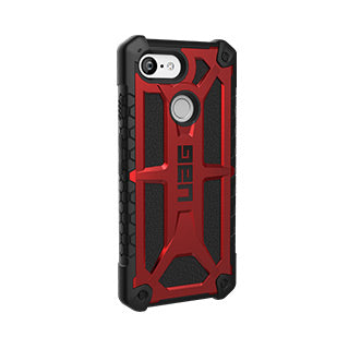 Google Pixel 3 UAG Red/Black (Crimson) Monarch Series case