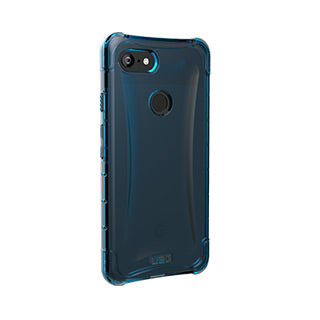 Google Pixel 3 XL UAG Blue/Clear (Glacier) Plyo Series case