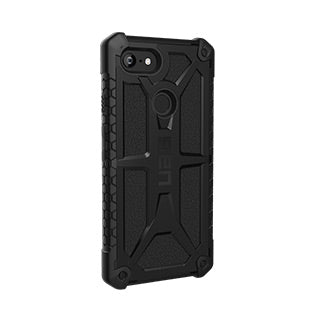 Google Pixel 3 XL UAG Black Monarch Series case