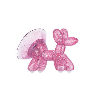 Universal Case-mate Pink Sheer Crystal Balloon Dog Stand Ups