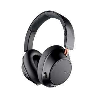 Plantronics Backbeat Go 810 Bluetooth Black (Graphite) Wireless Noise Cancelling Headphones