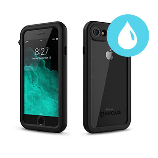 iPhone 8/7 Hitcase Black Splash Case