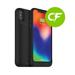 check out 83716 0bdc7 iPhone X/Xs mophie black juice pack air case