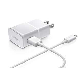 Micro USB Samsung OEM White 2A (10W) USB Wall Charger