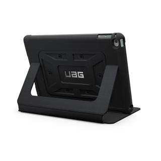 iPad Air 2 UAG Black/Black Metropolis Series Folio case