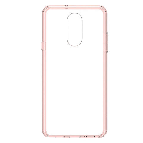 Blu Element  BECSLGQPK Clear Shield LG Q Stylo+ Pink