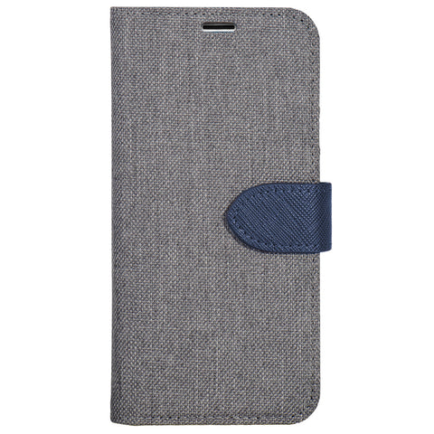 Blu Element  B21G7GR 2 in 1 Folio LG G7 One/G7 ThinQ Grey/Blue