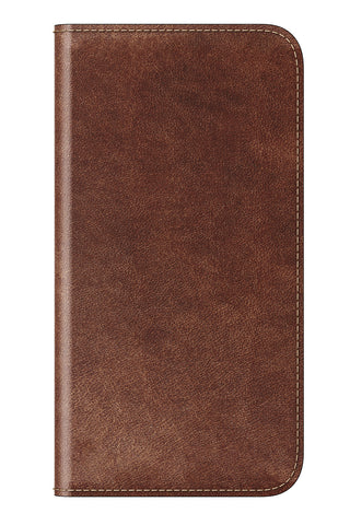 Nomad  NM218R0400 Traditional-Leather Folio iPhone X Brown