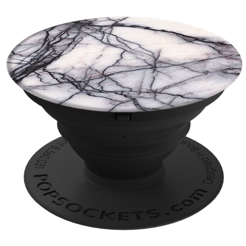PopSockets  909178 Grip Stand White Marble