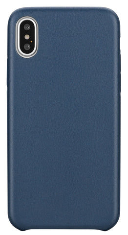 Blu Element  BBMI8NB Velvet Touch Case iPhone XS/X Navy Blue